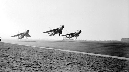 A trio of planes take off Picture: Archant