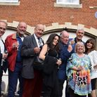 Former cast members gather at Lynford Hall to celebrate 35 years of 'Allo 'Allo Picture: Andrew Ruf