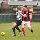 Robbie Linford's strike wasn't enough to see off Needham Market. Picture: Archant