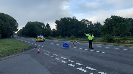 A van driver died following a crash on the A47 at Scarning, near Dereham. Picture: Archant