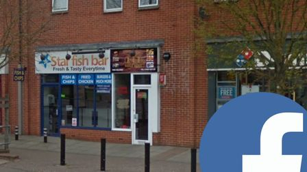The Star Fish bar is being sold on Facebook for £35,000. Picture: GoogleImages/Facebook