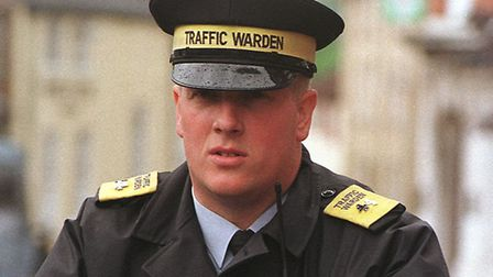 Shane Vertigan, who used to be a traffic warden. Picture: Archant