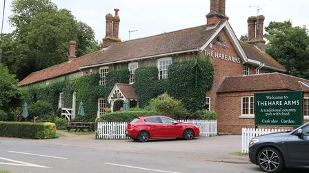 The Hare Arms, in the village of Stow Bardolph, between King's Lynn and Downham Market on the A10. P