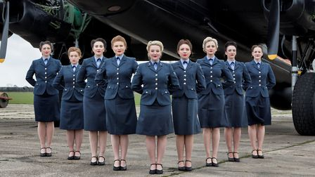 Britain's Got Talent finalists The D-Day Darlings, who will be appearing at Holt during the 1940s we