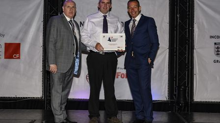 Karl Smith, Grassroots Match Official of the Year Picture: Christiaan Partridge Photography