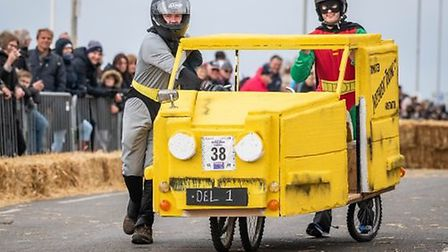 Go-karts of all shapes and sizes will hurtle around Hunstanton. Photo: West Norfolk Council