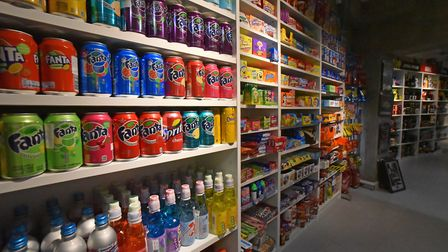 The Gifted store on London Street is home to a wide selection of American and Japanese sweets. Pictu