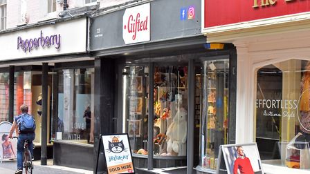 The Gifted store on London Street, Norwich. Picture: Jamie Honeywood