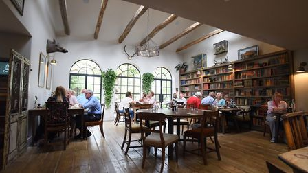 The Garden Room at the Brisley Bell, winners of the Pub of the Year 2019 at the Eat Norfolk Food And