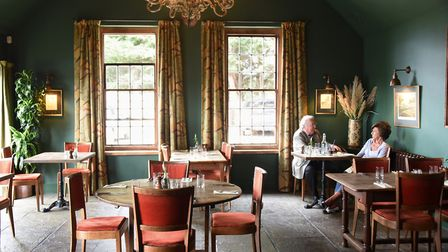 The Green Room at the Brisley Bell, winners of the Pub of the Year 2019 at the Eat Norfolk Food And