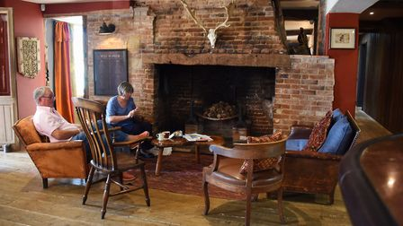 The bar area of the Brisley Bell, winners of the Pub of the Year 2019 at the Eat Norfolk Food And Dr