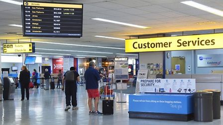 Norwich Airport needs to build an extension because it is too small for new government-prescribed sc