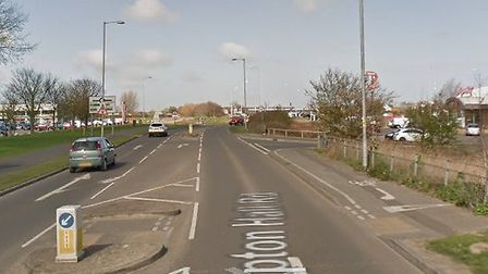 Police and firefighters were called out as a vehicle was leaking fuel on the Gapton Hall roundabout
