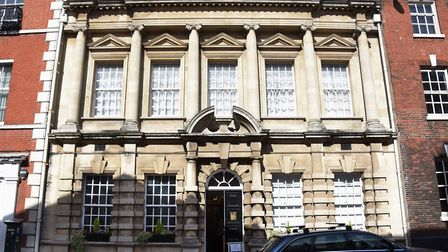 The Provincial Freemason Grand Lodge of Norfolk in St Giles Street, which has opened its doors to th