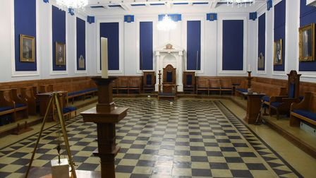 The Bishop Bowers Temple in the Provincial Freemason Grand Lodge of Norfolk which has opened its doo