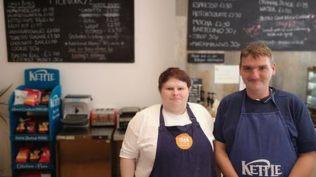Catherine Wright and Adrian Young-Yallop have had their lives transformed by the training course off