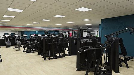 Improved gym equipment will be installed as well as new flooring in the gym. Picture: East Suffolk C