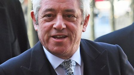 James has had enough of all the hot air coming from parliament - and says even speaker John Bercow,