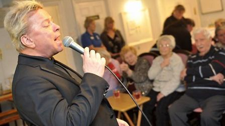 As a supporter of the Alzheimer's Society 1980s icon David Van Day has entertained care home residen