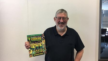 Winsor Dobbin, from Tasmania, is hoping to get a last minute ticket for Norwich City's game against