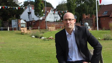 Dave Thomas, Liberal Democrat prospective parliamentary candidate for Norwich North. Pic: Liberal De