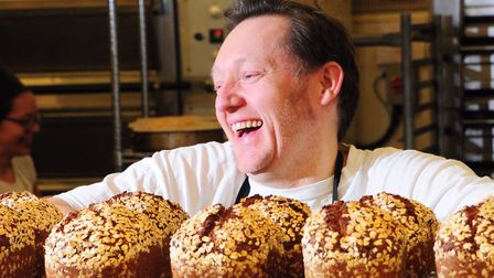 John Watt, owner of Pye Baker in Norwich, has closed his business. Photo by Simon Finlay.