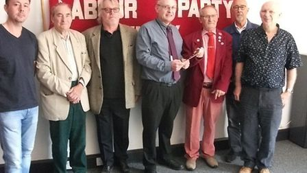 A booklet celebrating 100 years of the North Norfolk Labour Party has been delivered to the Record o
