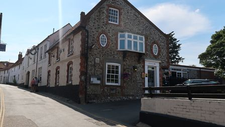 The White Horse is on the High Street in Blakeney, Norfolk. Picture: Stuart Anderson