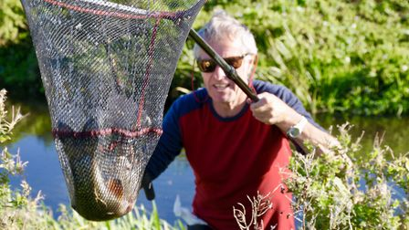 More Wensum action. Netted...but not a giant Picture: John Bailey