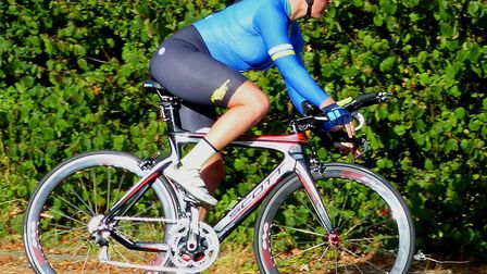 Kerry Tate (Newmarket T&CCC) – best woman on scratch at the Iceni Velo 10 near Attleborough. Picture