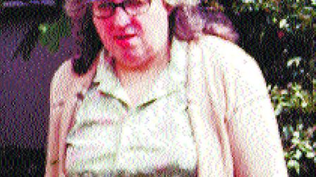 1998 Murder of Barbara Paulley, Barbara was killed in her home by thieves Photo: Archant