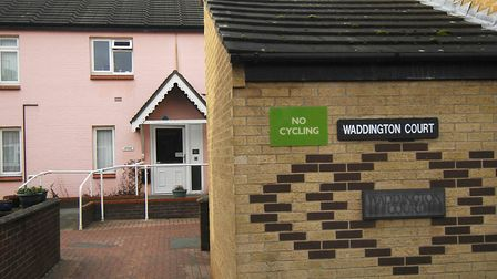 Wayne Hambling targeted two residents at the sheltered housing complex at Waddington Court in Norwic