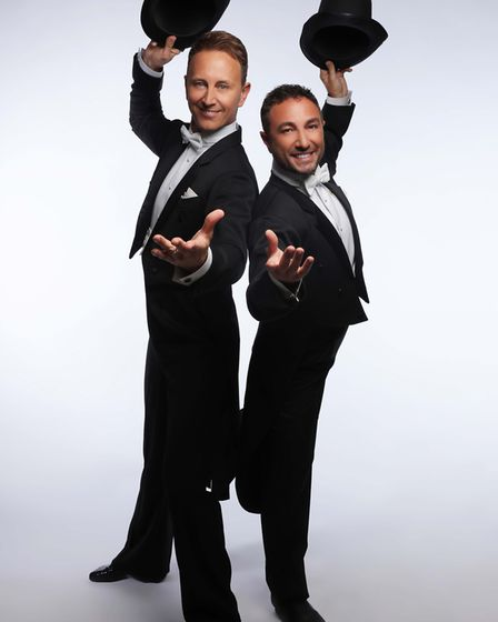 Ian Waite and Vincent Simone in The Ballroom Boys. Picture Strictly Theatre Co.
