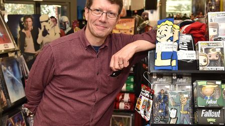 MD of Langleys, Steve Scott, who is meeting with the Royal Arcade owners next week. Pic; Archant.