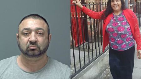 Secretar Calin (left) and Sucarina Calin (right) are wanted in France and are believed to be in the