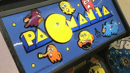 Pacmania arcade machine at the new Retro Replay in Norwich's Castle MallPicture: Neil Perry