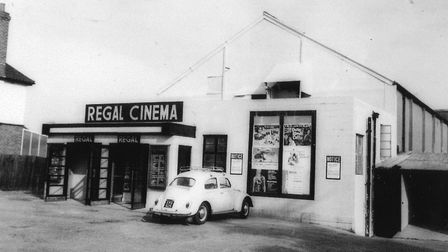 The former Regal Cinema in Wymondham in the early 1960s. Picture: Archant Library