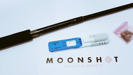 The driver of a Subura was found with an extendable baton after being stopped by Moonshot officers a