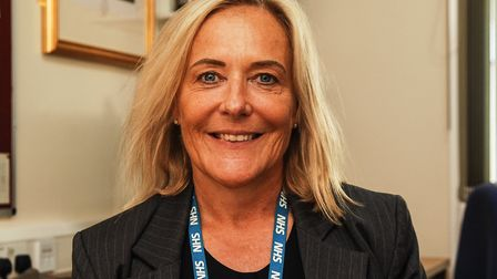 Carolione Shaw, chief executive at the Queen Elizabeth Hospital in King's Lynn Picture: Chris Bisho