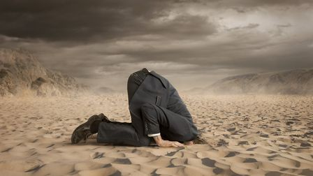 The message is clear: Don't bury your head in the sand when it comes to preparing for Brexit Pictu