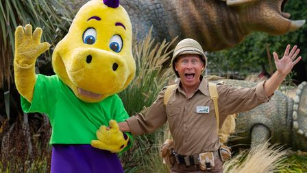 Ben Langley will be taking to the stage at Roarr! Dinosaur Adventure, in Lenwade, during its Hallowe