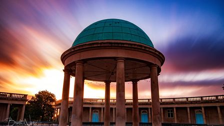 Eaton Park, one of the parks covered by the Norse Environmental Services contract. Pic: Brett Nunn.