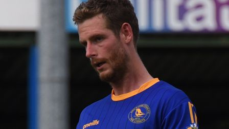 Linnets striker Adam Marriott will be hoping to fire his side into the third qualifying round of the
