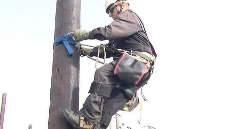 An unexpected power cut is affecting hundreds of homes and businesses across north Norfolk. Picture: