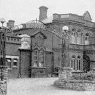 The recently-built Gorleston Hospital on Lowestoft Road before the war.