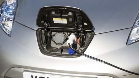 Electric Vehicle charging point. Picture: PA Archive/PA Images