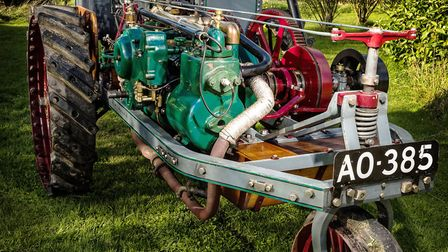 """A """"unique and fanous"""" 1903 Ivel Agricultural Motor tractor is expected to fetch up to 250,000 at the"""