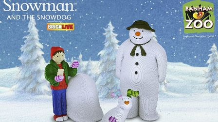 The BRICKLIVE tour of The Snowman and the Snowdog coming to Banham Zoo. Pic: submitted.