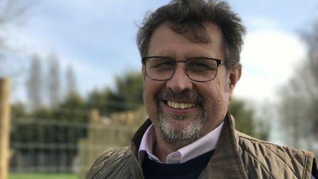 David Field, CEO of the Zoological Society of East Anglia, in charge of Banham Zoo and Africa Alive!