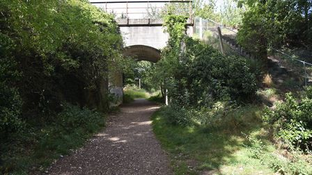 Joe Blunt's Lane in Thetford is said to be haunted. Byline: Sonya DuncanCopyright: Archant 2019